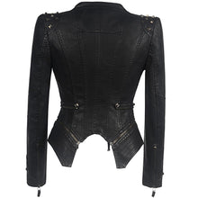 Load image into Gallery viewer, Verona Gothic Leather Jacket