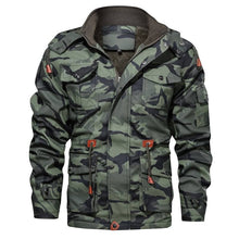 Load image into Gallery viewer, Pierre Camo Leather Jacket
