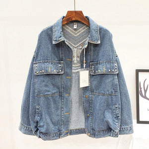 Merilin Western Denim Jacket