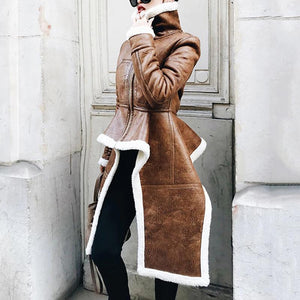 Audrey Leather Coat