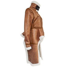Load image into Gallery viewer, Audrey Leather Coat