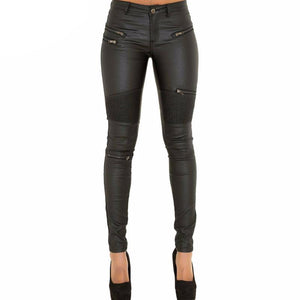 Marlene Sexy Faux Leather Pants