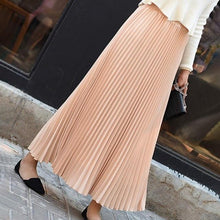 Load image into Gallery viewer, Pleated Maxi Skirt