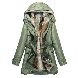 Caera Hooded Parka Coat