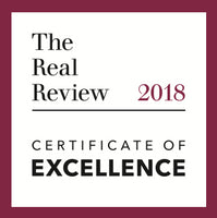 The Real Review 2018 Certificate Of Excellence