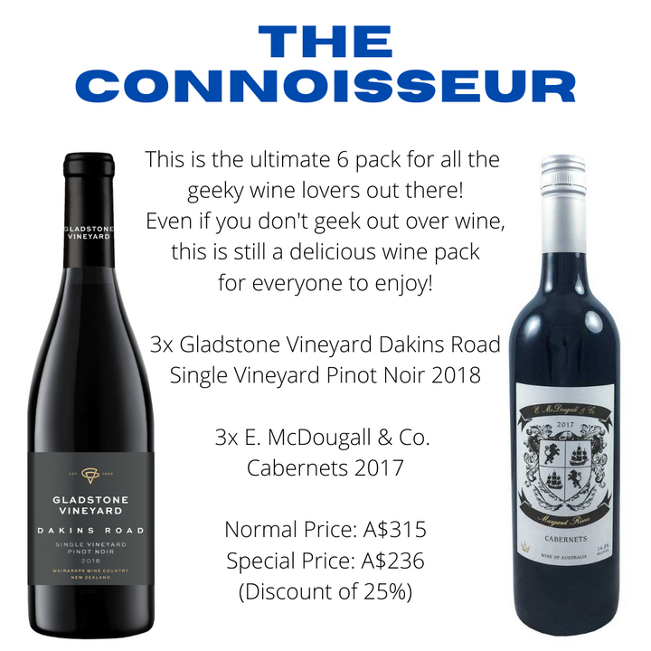 The Connoisseur's WIne Pack