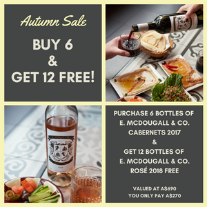 Autumn Sale - Buy 6 get 12 FREE!