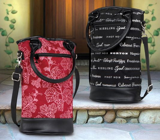 Insulated Designer Wine Totes