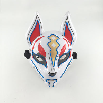 masque nomade led fortnite bleu