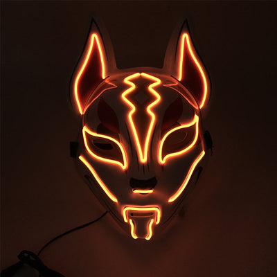 masque nomade led fortnite orange