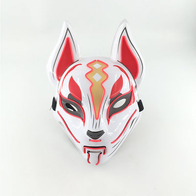 masque nomade led fortnite rouge