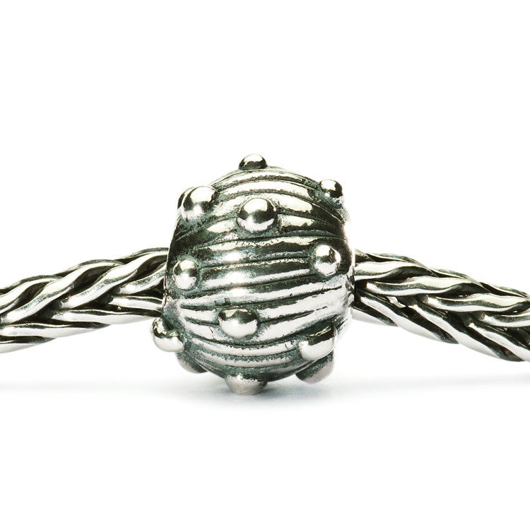 Trollbeads Silver Sea Urchin retired