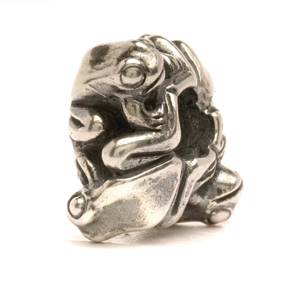 Trollbeads 11430 Four Frogs, Big - retired