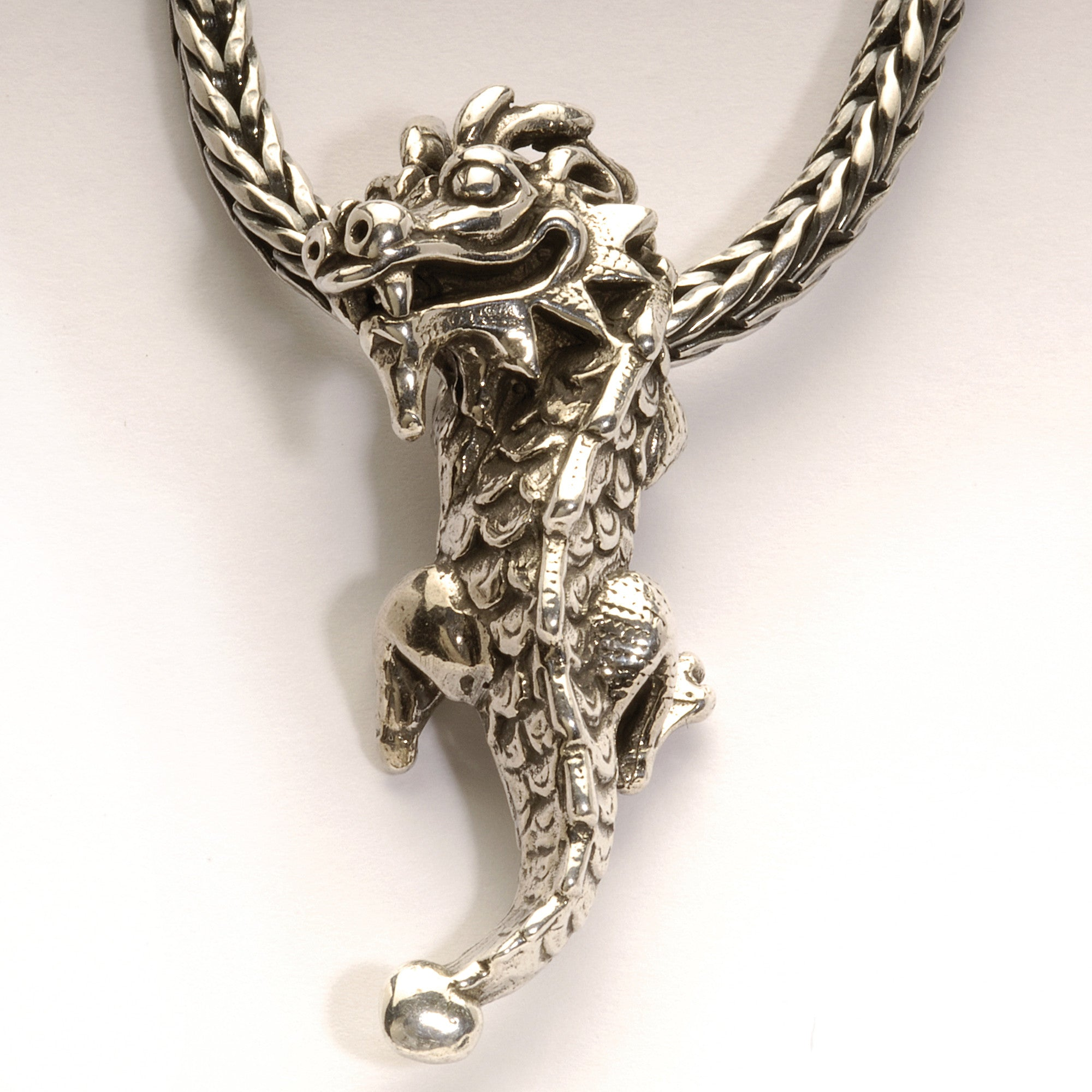 silver secret prayer dragon p sterling box chains indonesia from novica necklace
