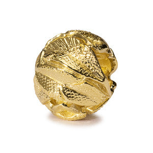 Trollbeads 18ct gold Angel's Feathers Bead