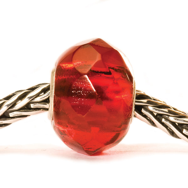 Trollbeads 60188 Bright Red Prism