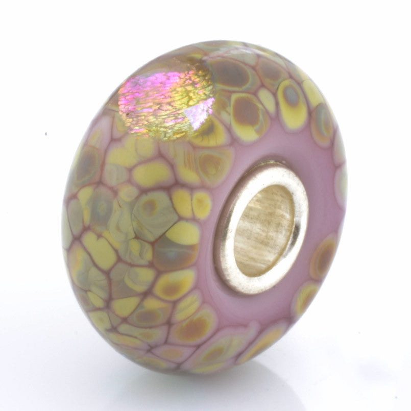 Trollbeads 62019 Purple Flower Mosaic