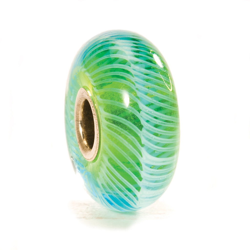 Trollbeads 61370 Turquoise Feather