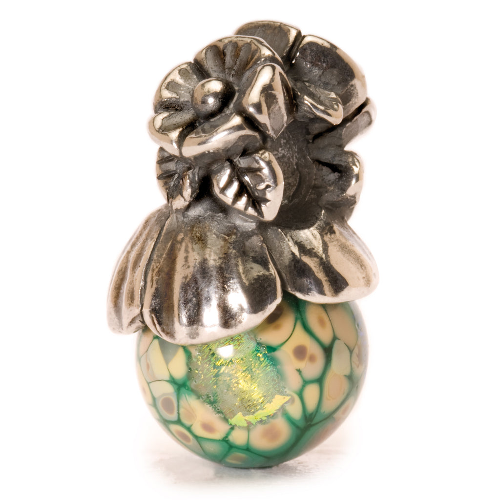 Trollbeads 61723 Forget - me - not With Bud