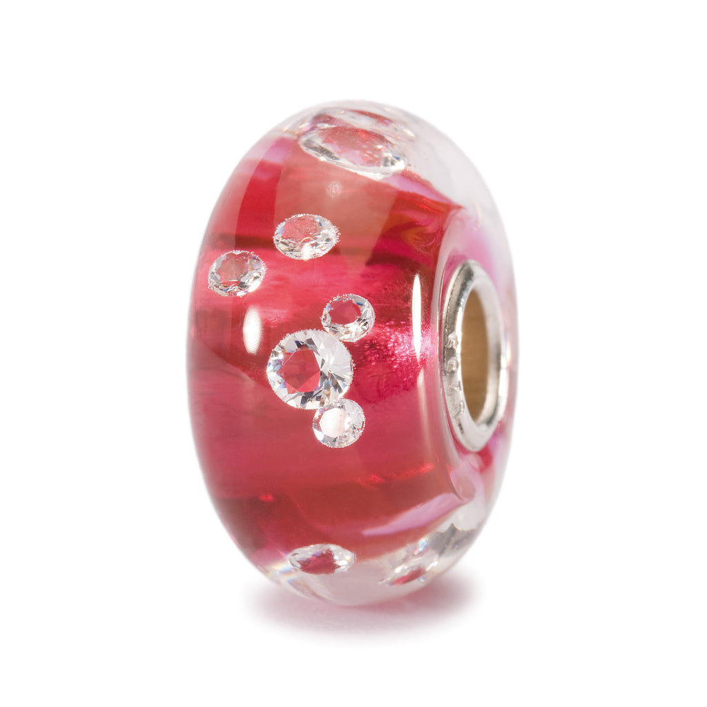 Trollbeads 81006 The Diamond Bead, Pink