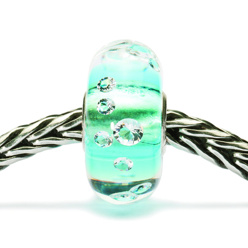 Trollbeads 81008 The Diamond Bead, Iceblue
