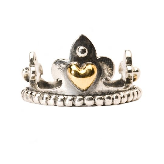 Trollbeads Crown With Gold Ring