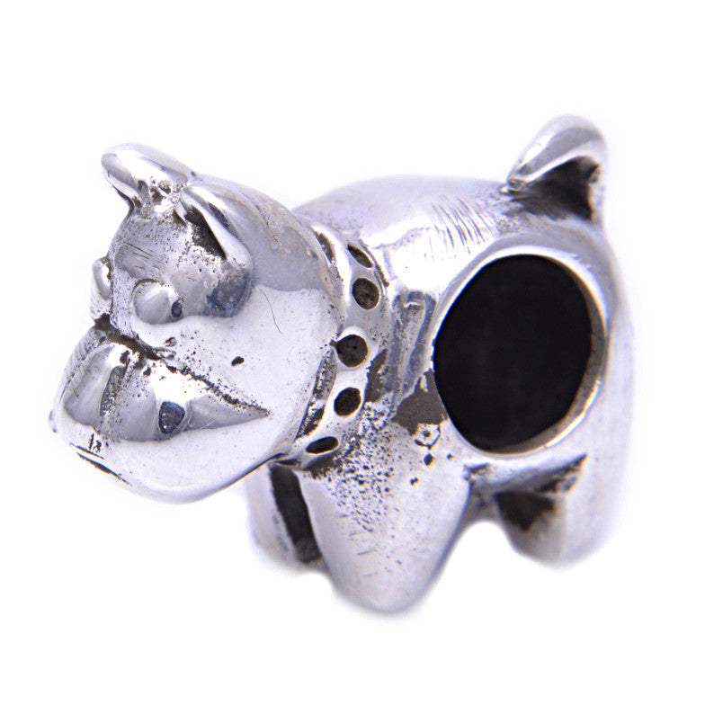 Charmlinks Silver Bead British Bulldog