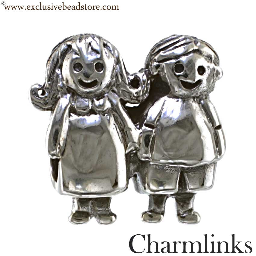 Charmlinks Silver Bead Sisters