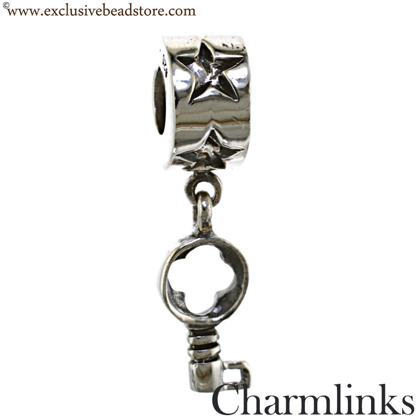 Charmlinks Silver Bead Little Key