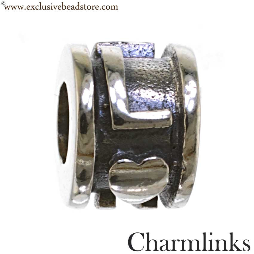 Charmlinks Silver Bead Love