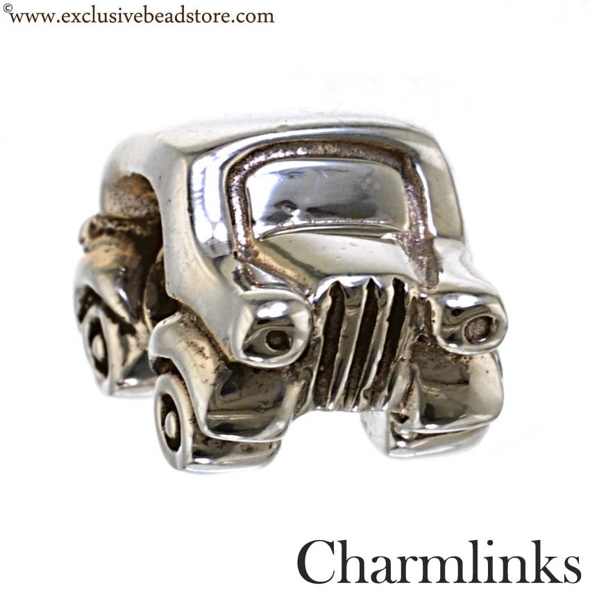 Charmlinks Silver Bead Car