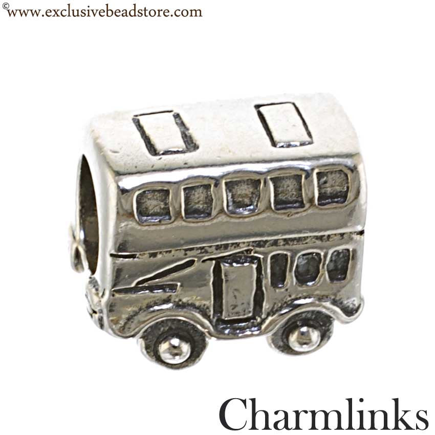 Charmlinks Silver Bead Bus