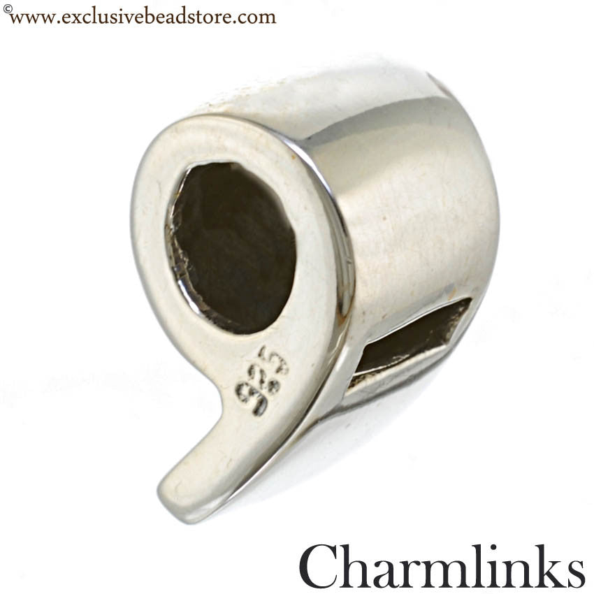 Charmlinks Silver Whistle Bead