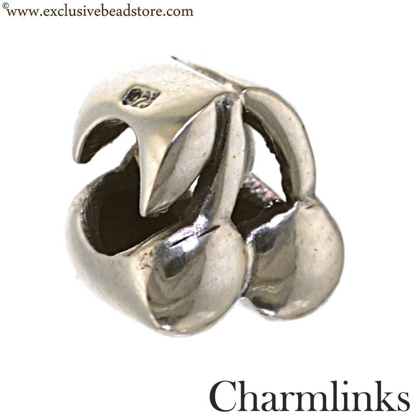 Charmlinks Silver Cherries Bead