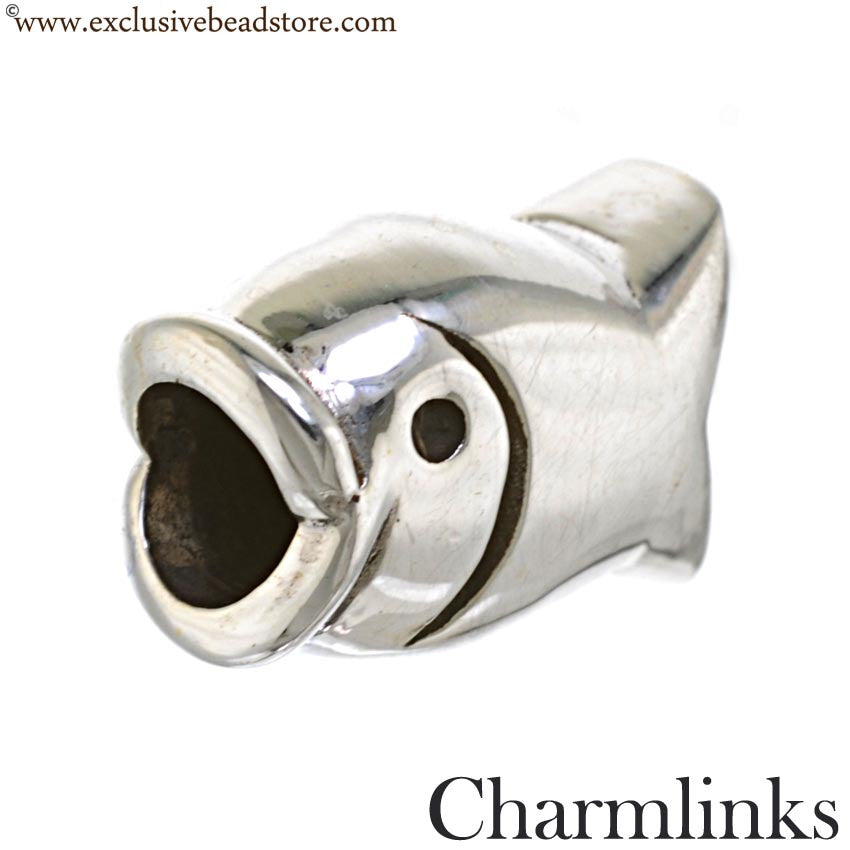 Charmlinks Silver Fish Bead