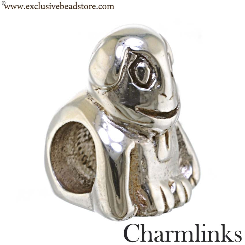 Charmlinks Silver Dog Bead