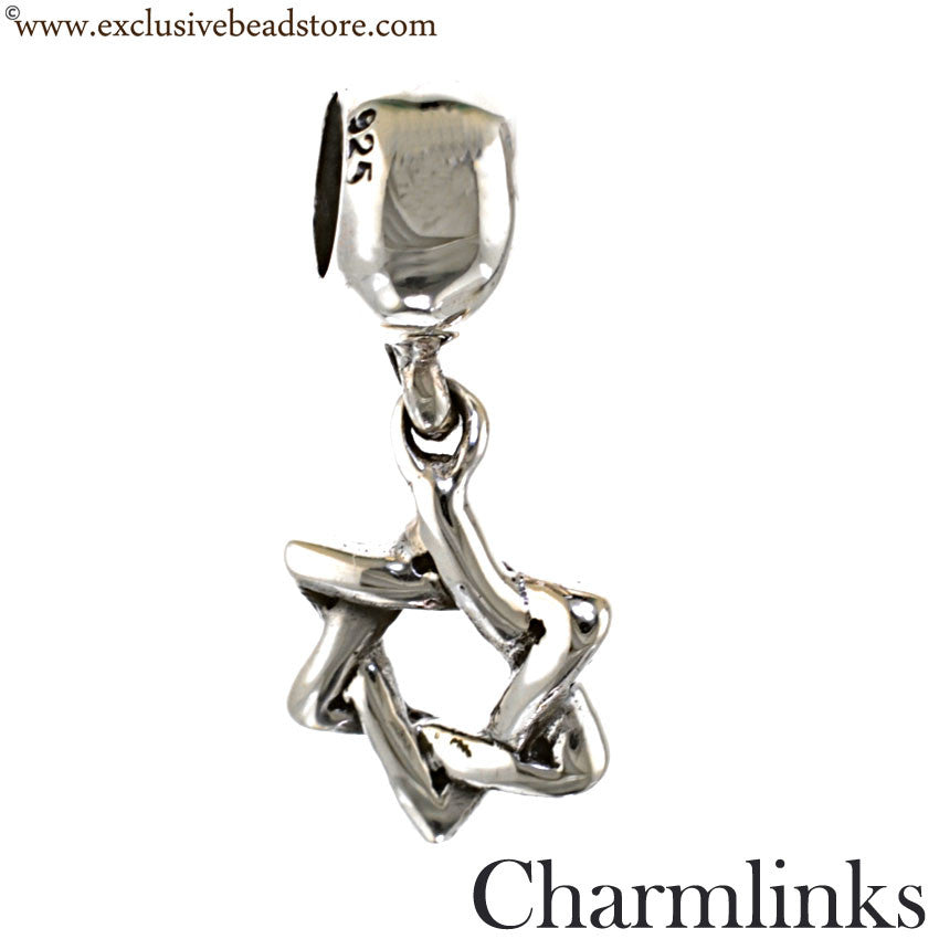 Charmlinks Silver Dangling Star Bead