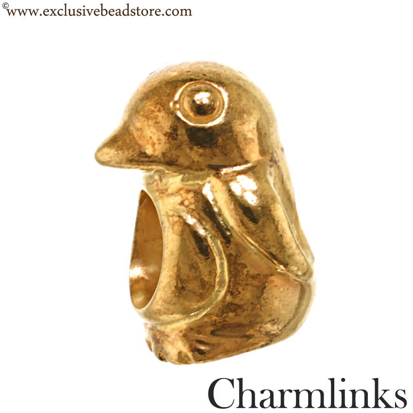 Charmlinks Gold Plated Bead - Exclusive Bead Store