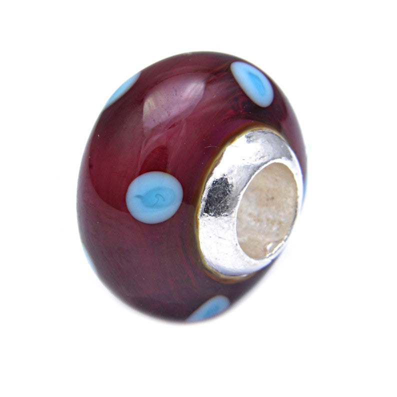 Charmlinks Glass Bead Cher - Exclusive Bead Store