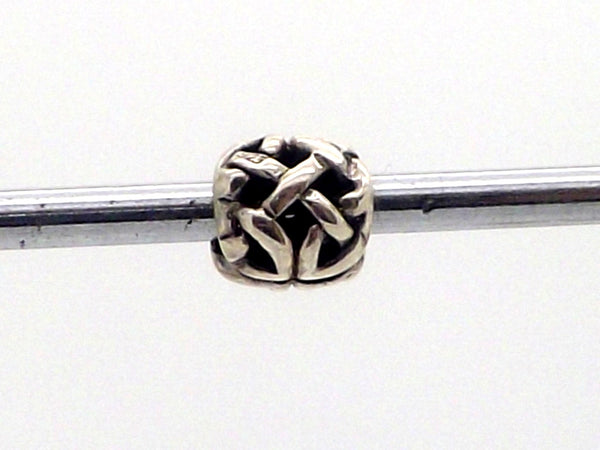 Charmlinks Silver Wicker Ball Bead