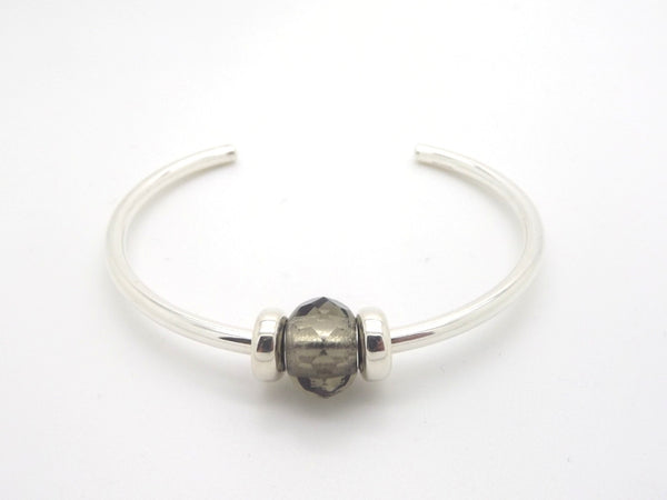 Trollbeads Grey Prism Bangle