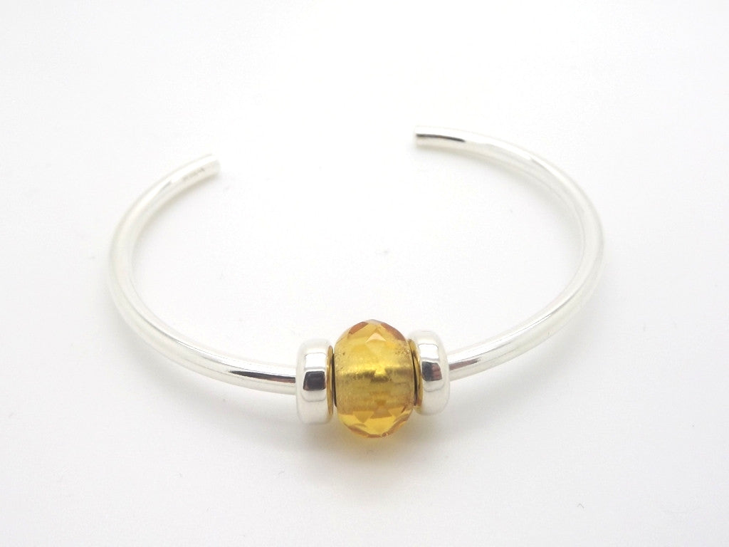 Trollbeads Yellow Prism Bangle