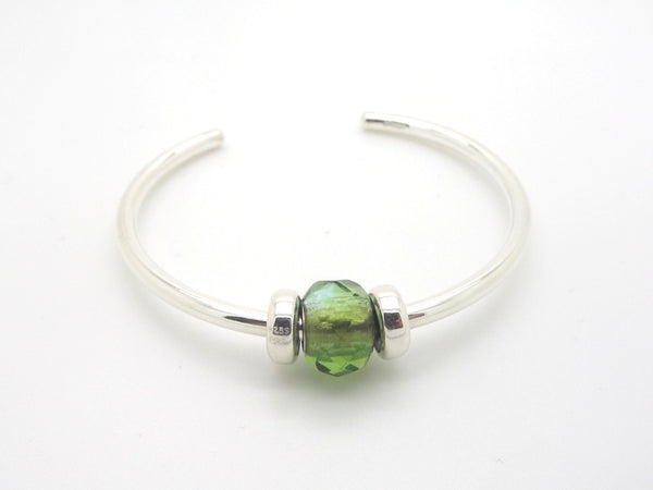 Trollbeads Green Prism Bangle