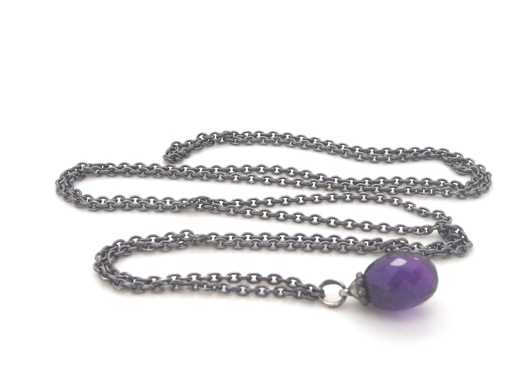 Trollbeads Fantasy Necklace with Amethyst