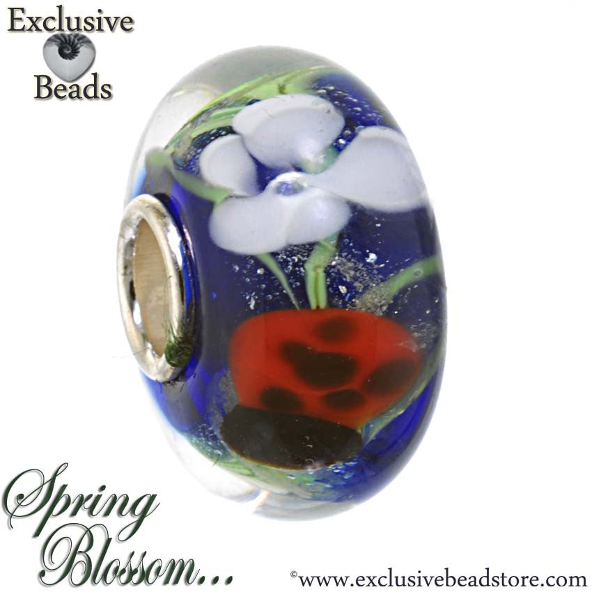 Exclusive Beads Spring Blossom Ladybird