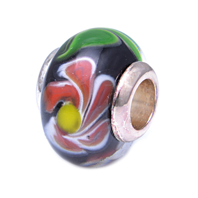 Charmlinks Glass Bead Flamenco - Exclusive Bead Store