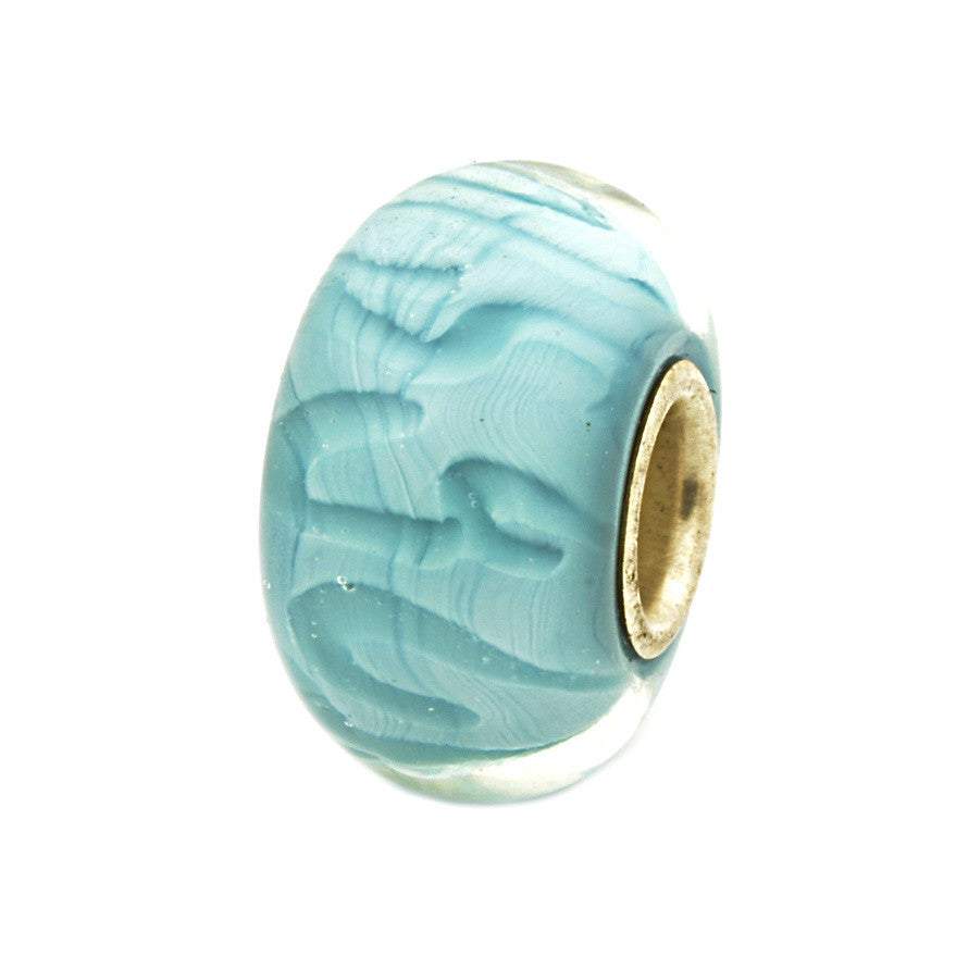 Charlotte Borgen Turquoise Glass Bead - Exclusive Bead Store