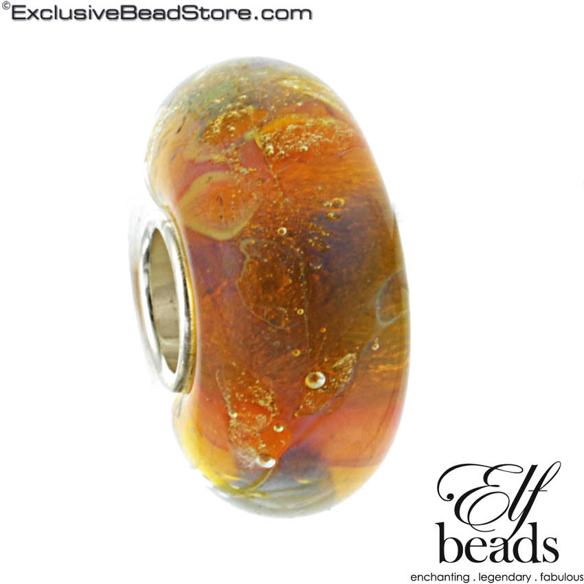 Elfbeads GXX025 Halo Glass Bead