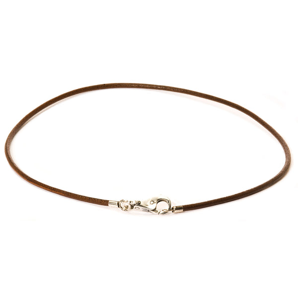 Trollbeads Brown Leather Necklace