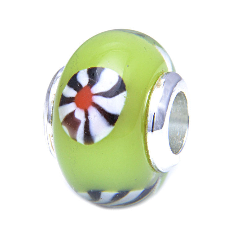 Charmlinks Glass Bead Lacey - Exclusive Bead Store